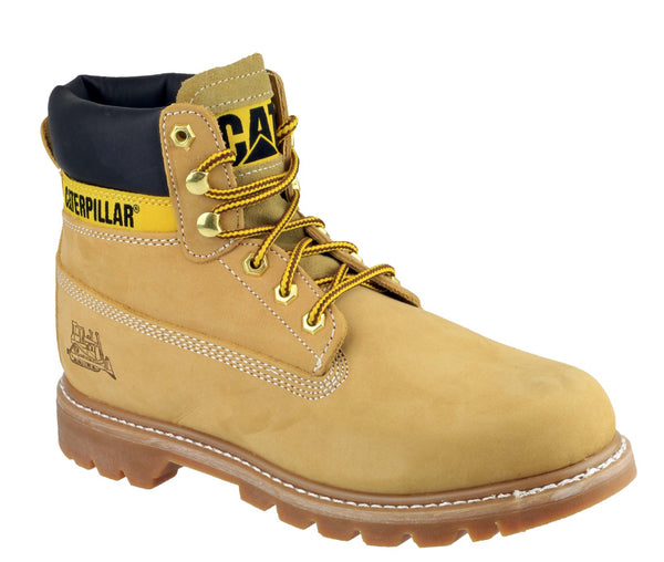 Caterpillar Colorado Mens Iconic Rugged Lace Up Boot Honey