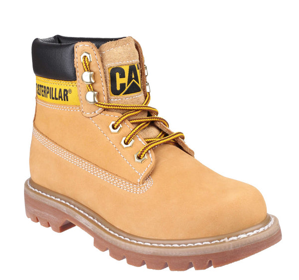 Caterpillar Colorado Womens Lace Up Casual Boot Honey