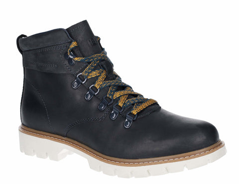 Caterprillar Crux Mens Leather Lace Up Casual Boot