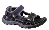 Caterpillar Giles Mens Touch Fastening Sandal Black