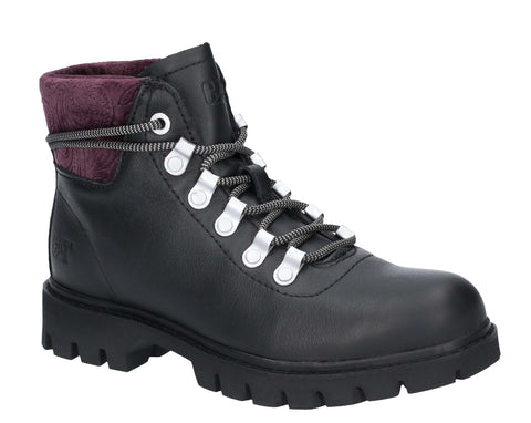 CAT Lifestyle Handshake Ankle Boot Black/Purple