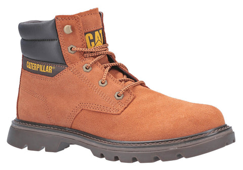Caterpillar Quadrate Mens Lace Up Casual Boot