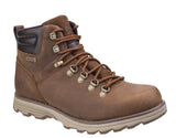 Caterpillar Sire Mens Waterproof Lace Up Boot Brown Sugar