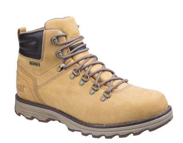 Caterpillar Sire Mens Waterproof Lace Up Boot Honey