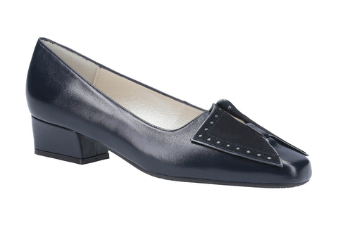 Cefalu Favor Court Shoe Navy