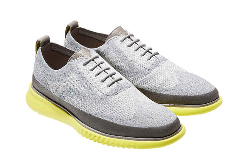 Cole Haan 2.Zerogrand Stitchlite Oxford Shoe Vapor Grey/White