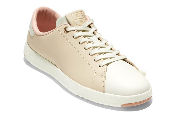 Cole Haan Grandpro Tennis Lace Up Trainer Brazil Sand/Ivory