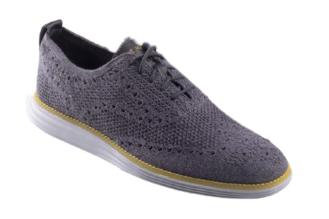 Cole Haan OG Grand Stitchlite Wing Lace Up Shoe Quiet Shade/Gray P