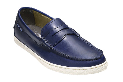 Cole Haan Pinch Weekender Loafer Slip On Shoe Blazer Blue