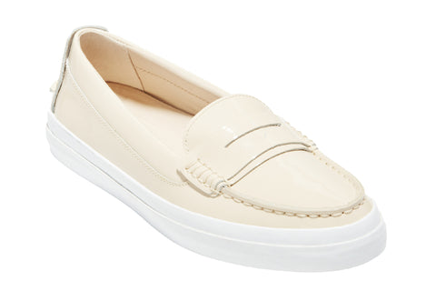 Cole Haan Pinch Weekender LX Slip On Brazilian Sand Patent/Optic