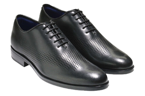 Cole Haan Washington Grand Laser Wing Oxford Shoe Black/Blue