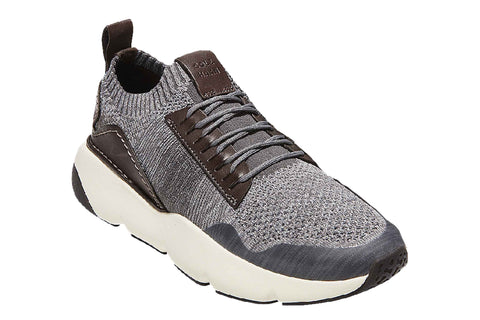 Cole Haan ZEROGRAND All-Day Lace Up Trainer Gray Stp/Quiet/Sleet/Black/Ivy