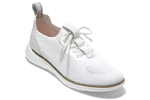 Cole Haan Zerogrand Global Trainer Optic White Knit/Glacier Grey