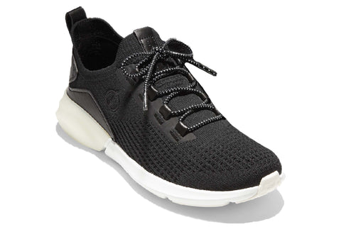 Cole Haan Zerogrand Stitchlite Lace Up Runner Black/Optic White