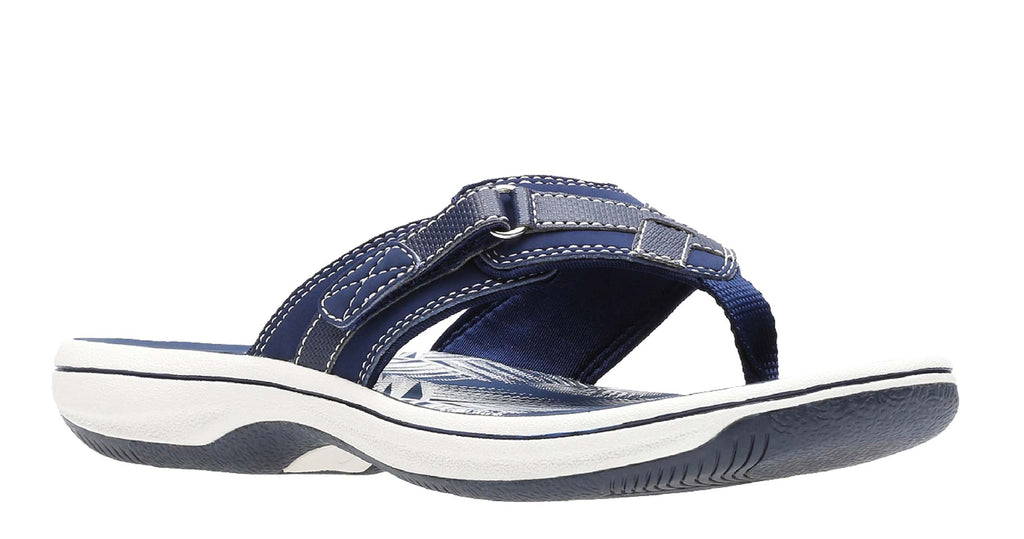 beautiful design quality products shop for authentic Clarks Brinkley Sea Womens Toe Post Summer Sandal