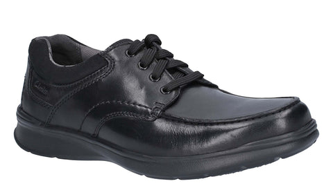 Clarks Cotrell Edge Lace Up Shoe Black