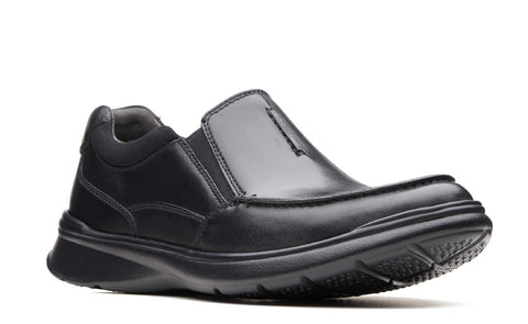 Clarks Cotrell Free Slip On Shoe Black