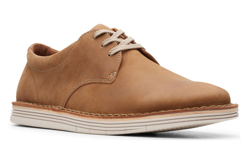 Clarks Forge Vibe Mens Lace Up Shoe Tan