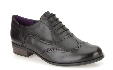 Clarks Hamble Oak Lace Up Shoe Black