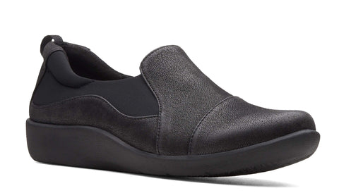 Clarks Sillian Paz Slip On Shoe Black