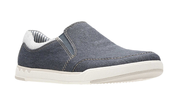 Clarks Step Isle Slip Slip On Shoe Navy