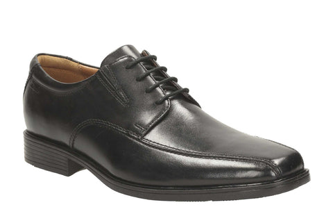 Clarks Tilden Walk Lace Up Shoe Black