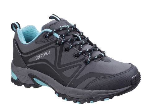 Cotswold Abbeydale Low Hiker Grey/Black/Aqua