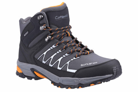 Cotswold Abbeydale Mid Mens Waterproof Lace Up Walking Boot