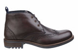 Cotswold Avening Mens Brogue Detail Lace Up Chukka Boot