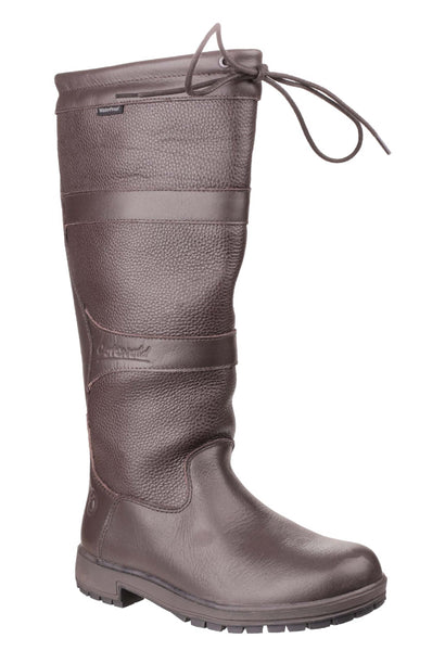 Cotswold Beaumont Womens Waterproof Pull On Country Boot Brown