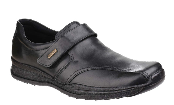 Cotswold Birdlip Mens Waterproof Touch Fastening Casual Shoe Black
