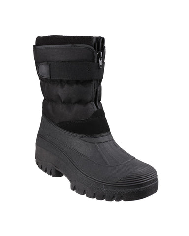 Cotswold Chase Womens Water Resistant All Weather Boot Black