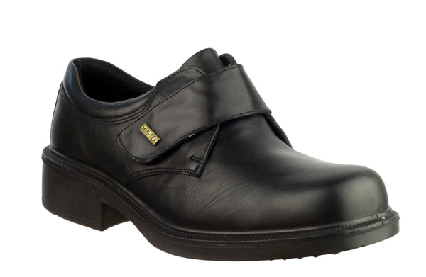 Cotswold Cleeve Mens Wide Fit Waterproof Touch Fastening Shoe Black