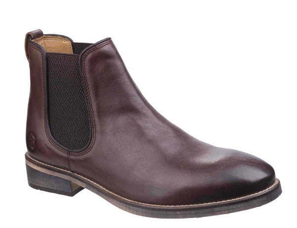 Cotswold Corsham Chelsea Boot Dark Brown