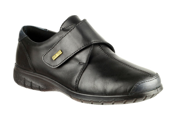 Cotswold Cranham Womens Waterproof Touch Fastening Casual Shoe Black