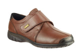 Cotswold Cranham Womens Waterproof Touch Fastening Casual Shoe Brown