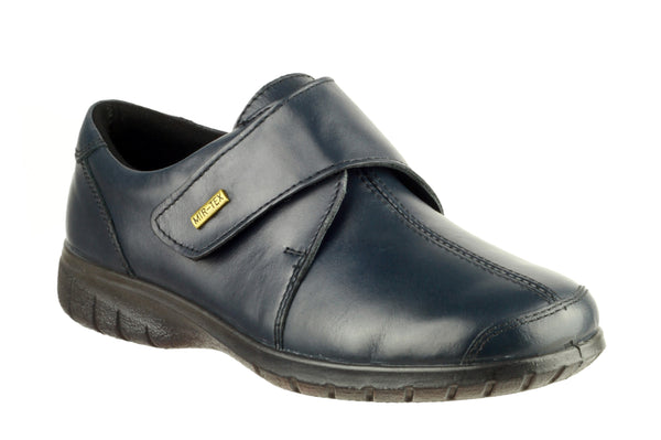 Cotswold Cranham Womens Waterproof Touch Fastening Casual Shoe Navy
