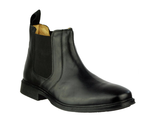 Cotswold Ebrington Mens Leather Pull On Chelsea Boot