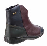 Cotswold Glympton Womens Waterproof Zip Up Leather Ankle Boot