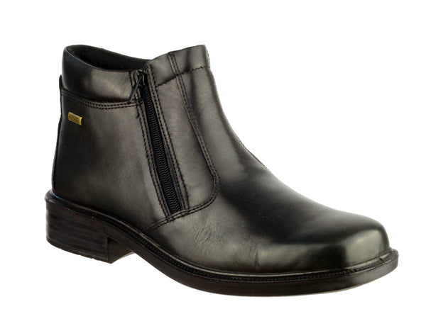 Cotswold Kelmscott Mens Waterproof Double Zip Boot Black