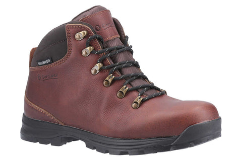 Cotswold Kingsway Lace Up Hiking shoe Brown