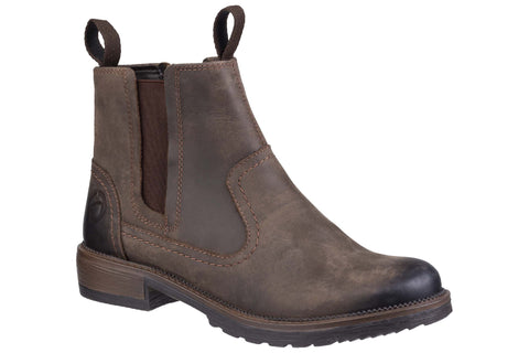 Cotswold Laverton Slip On Ankle Boot Brown
