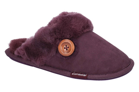 Cotswold Lechlade Womens Sheepskin Mule Slipper