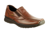 Cotswold Naunton Mens Waterproof Slip On Casual Shoe Brown