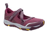 Cotswold Norton Womens Touch Fastening Casual Shoe Wine