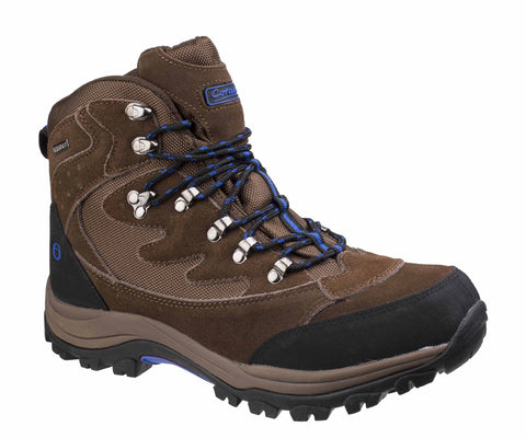 Cotswold Oxerton Mens Waterproof Lace Up Walking Boot Brown