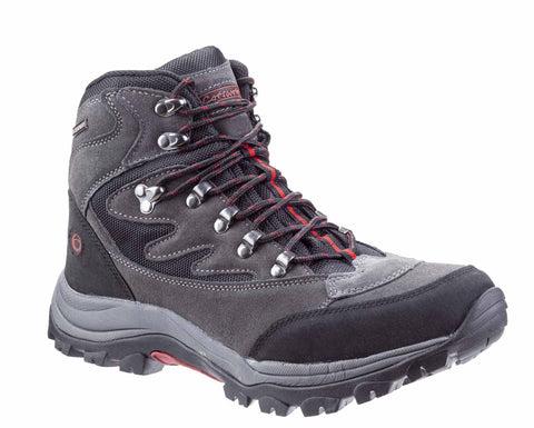 Cotswold Oxerton Mens Waterproof Lace Up Walking Boot Grey
