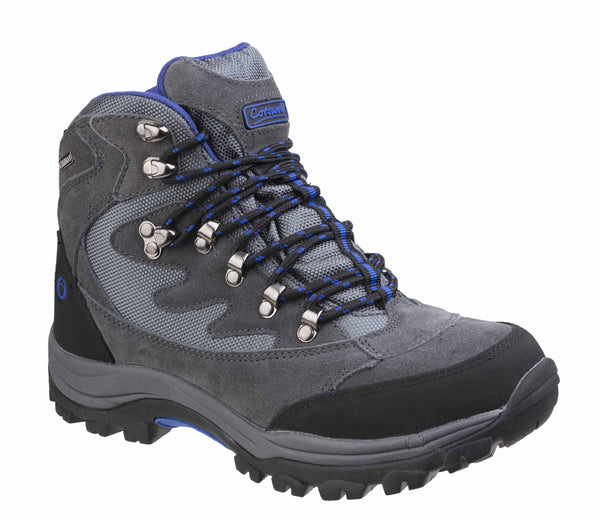 Cotswold Oxerton Womens Waterproof Lace Up Walking Boot Grey