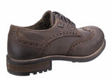 Cotswold Oxford Mens Waterproof Brogue Detail Country Shoe
