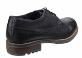 Cotswold Poplar Mens Brogue Detail Lace up Shoe